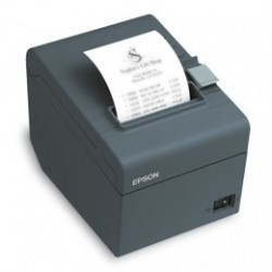 Epson TM-T20II, USB, RS-232, 8 pts/mm (203 dpi), massicot, noir