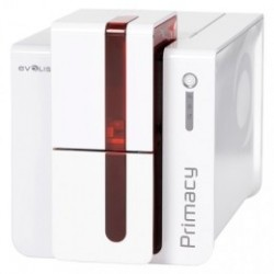 Evolis Primacy, 1 face, 12 pts/mm (300 dpi), USB, Ethernet, rouge